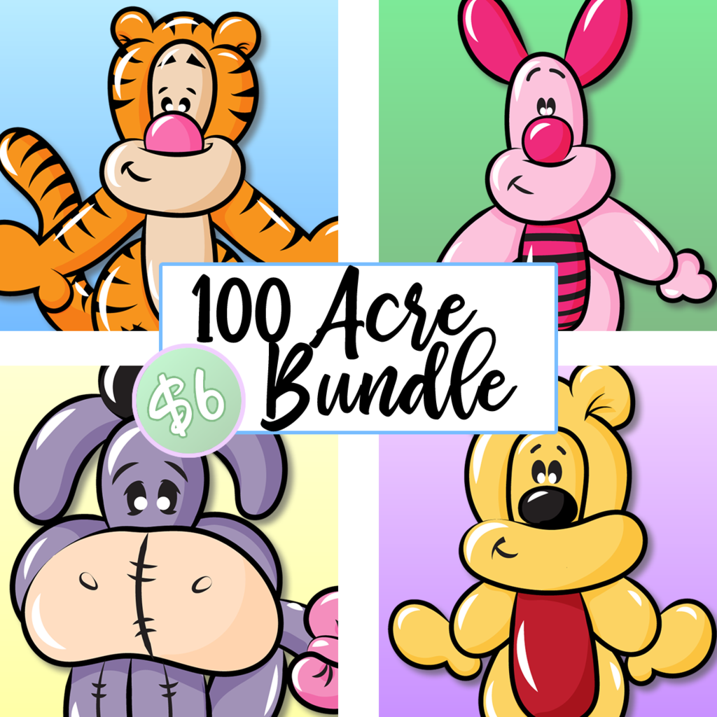 1024x1024 Balloon Animal Menu Clip Art And Downloads Tagged Clip Art