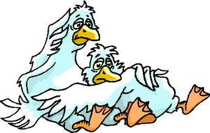 300x191 Geese Clip Art