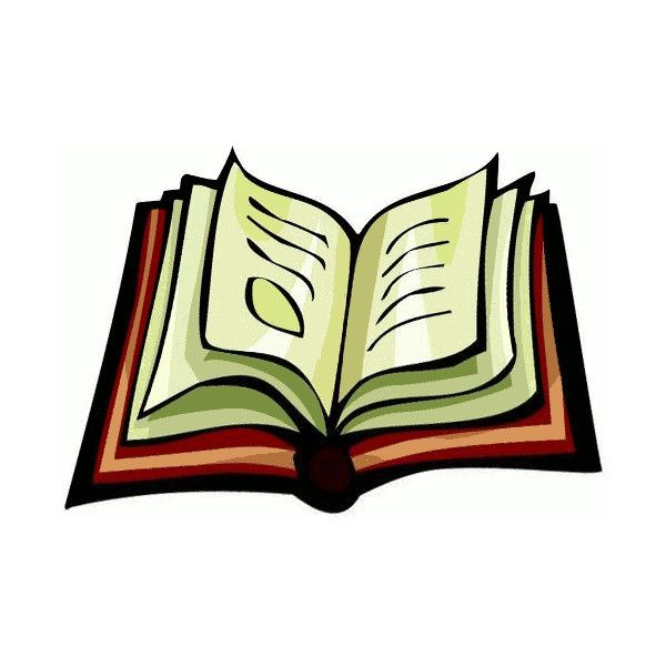 600x600 Free Open Book Clipart
