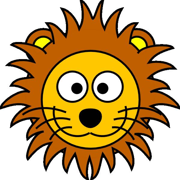 600x600 Lions Face Clipart Amp Lions Face Clip Art Images