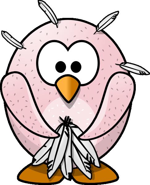 486x600 Plucked Bird Clip Art