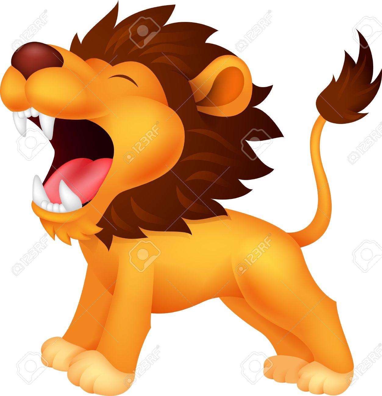 1253x1300 Cute Lions Clipart