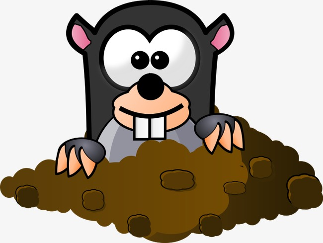 650x489 Gophers, Hand Painted Cartoon, Cartoon Animals, Hand Painted Png