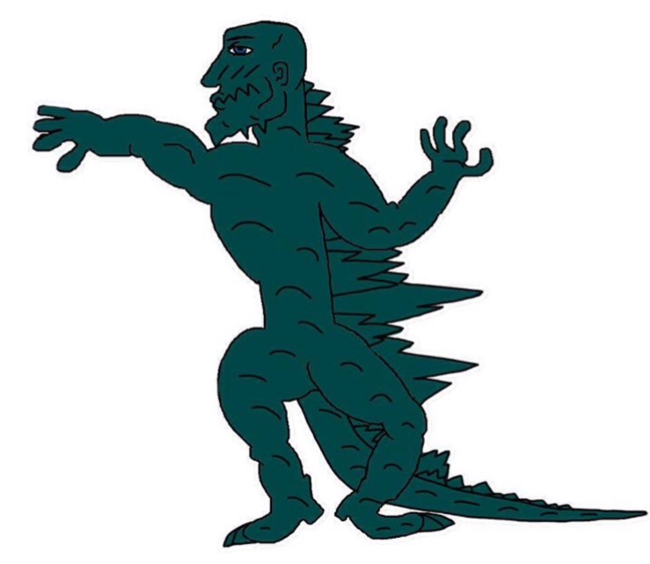 gorilla clipart at getdrawings com free for personal use gorilla rh getdrawings com godzilla clipart black and white godzilla clipart