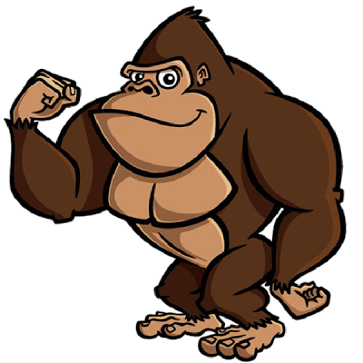 gorilla clipart at getdrawings com free for personal use gorilla rh getdrawings com gorilla clip art black and white gorilla clipart sillouttee