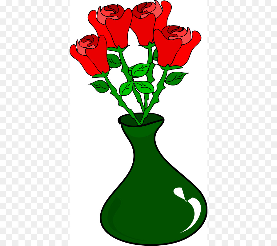 900x800 Vase Of Flowers Clip Art