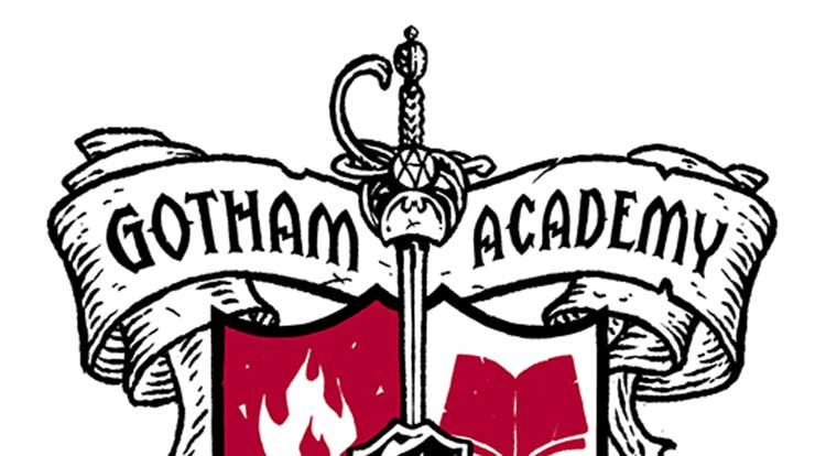 750x414 Sdcc'14 Gotham Academy Coat Of Arms Spotted Major Spoilers