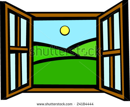 450x369 Free Clipart Window Pictures