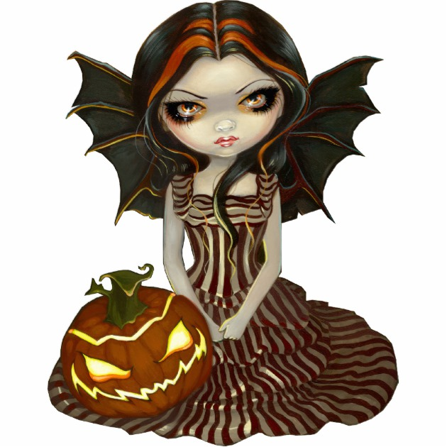 630x630 Halloween Twilight Gothic Fairy Photo Sculpture