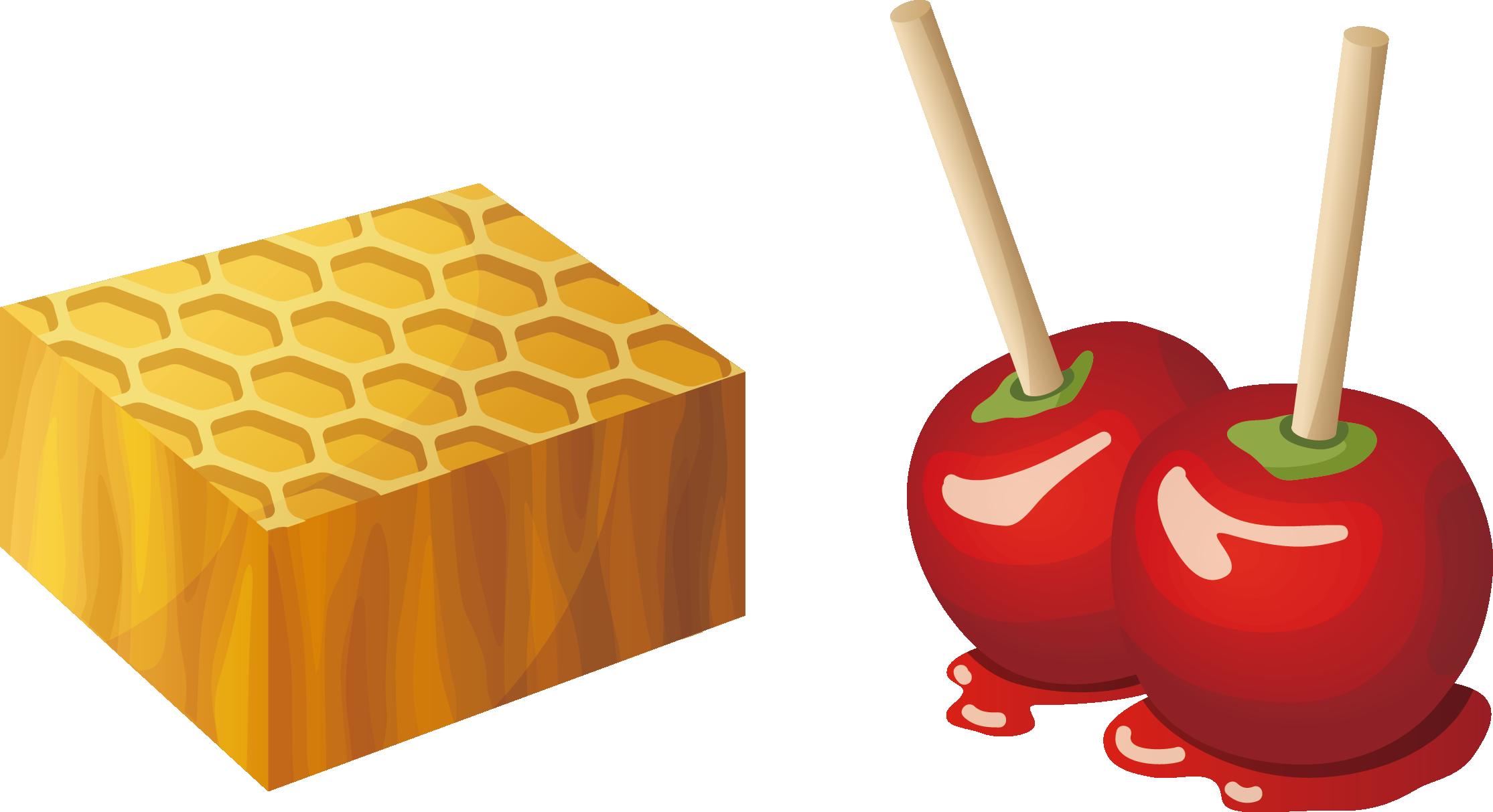 2229x1213 Candy Apple Caramel Apple Fruit Salad Clip Art