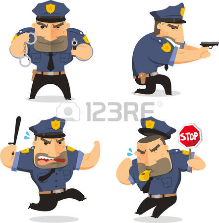 442x450 Cop Clipart Government Official