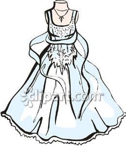 259x300 Elegant Wedding Gown Clip Art Fashion Dresses