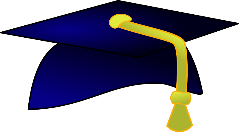 800x442 Cap And Gown Clipart Clipartlook
