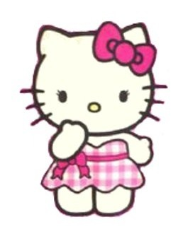 265x334 Gown Clipart Hello Kitty