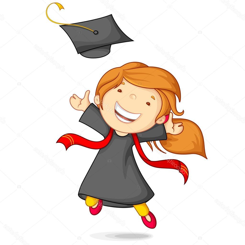 1024x1024 Best Free Cap And Gown Clip Art Vector Images Free Clip Art