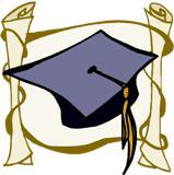 159x160 Free Graduation Clip Art