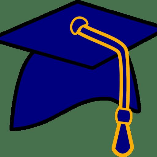 512x512 Cropped Graduation Hat Free Clip Art Of A Graduation Cap Clipart
