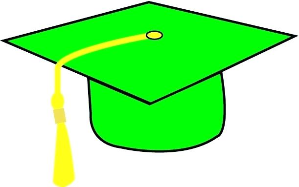 611x383 Interesting Graduation Hat Clipart Outstanding
