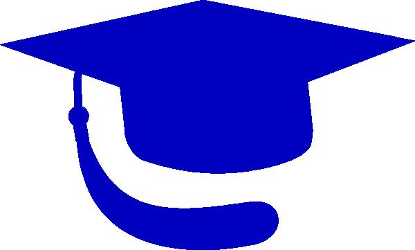 600x361 Blue Hat Graduation Clip Art