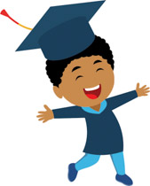 169x210 Free Graduation Clipart