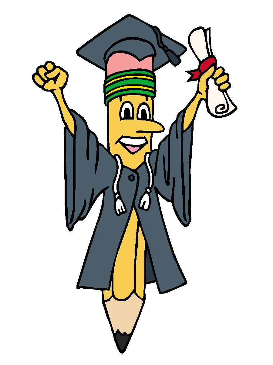 900x1200 Cartoon Graduation Clipart