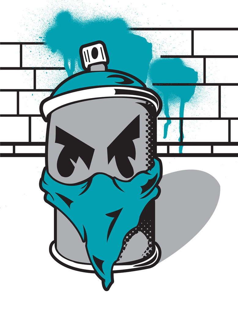 778x1027 Clipart Character Spray Graffiti Spray Can Free Download Clip