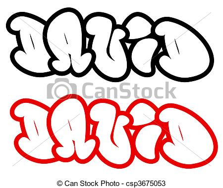 450x380 David In Funny Graffiti Fonts. The Name David In Funny Graffiti