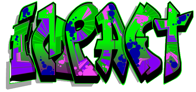 631x298 Impact Graffiti Black Background Free Images