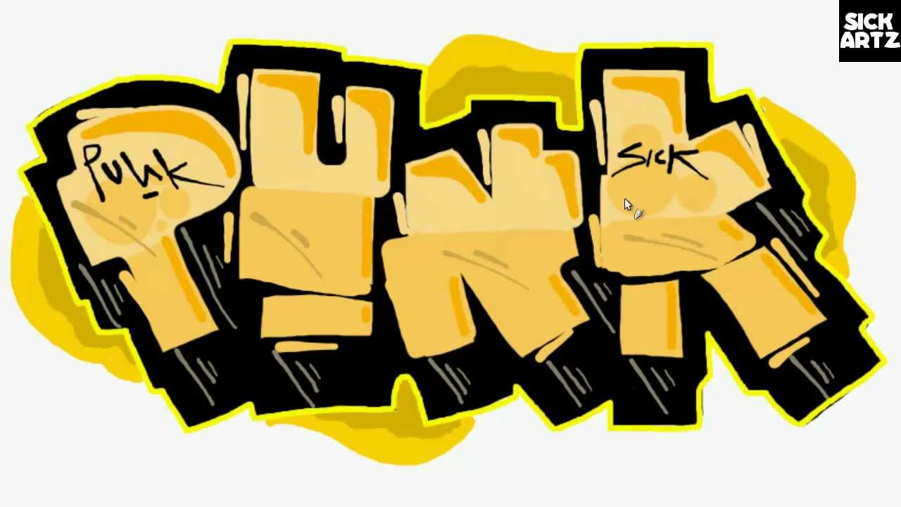 1280x720 Punk Clipart Graffiti