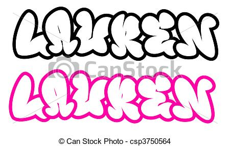 450x286 The Name Lauren In Graffiti Style The Name Lauren In Drawing