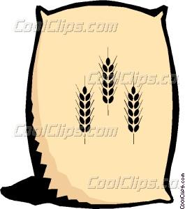 265x300 Grain Clipart Flour Sack