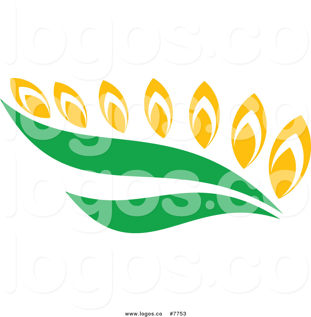 1024x1044 Royalty Free Clip Art Vector Wheat And Green Leaves Logo By Vector