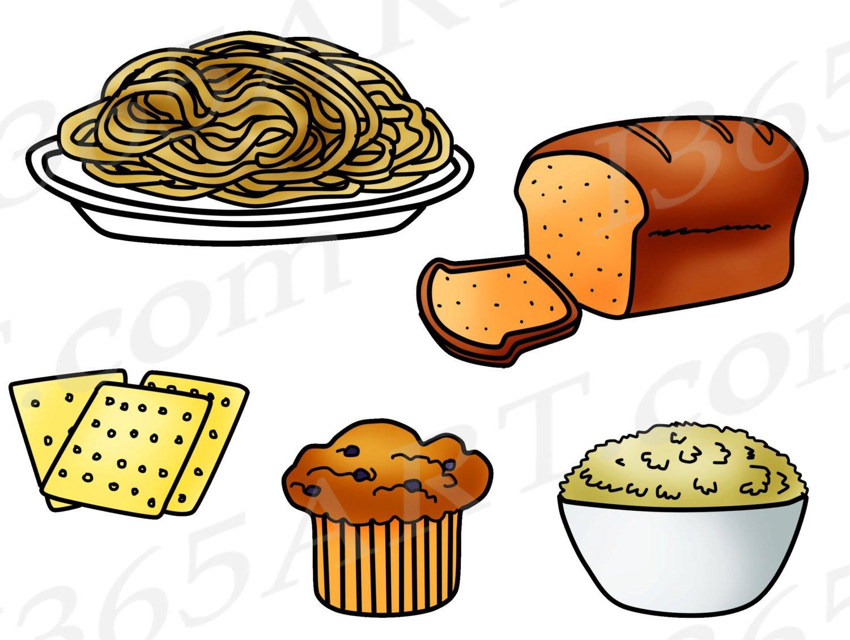 1500x1130 50% Off Grains Clipart, Grains Clip Art, Food Groups, Fiber, Bread