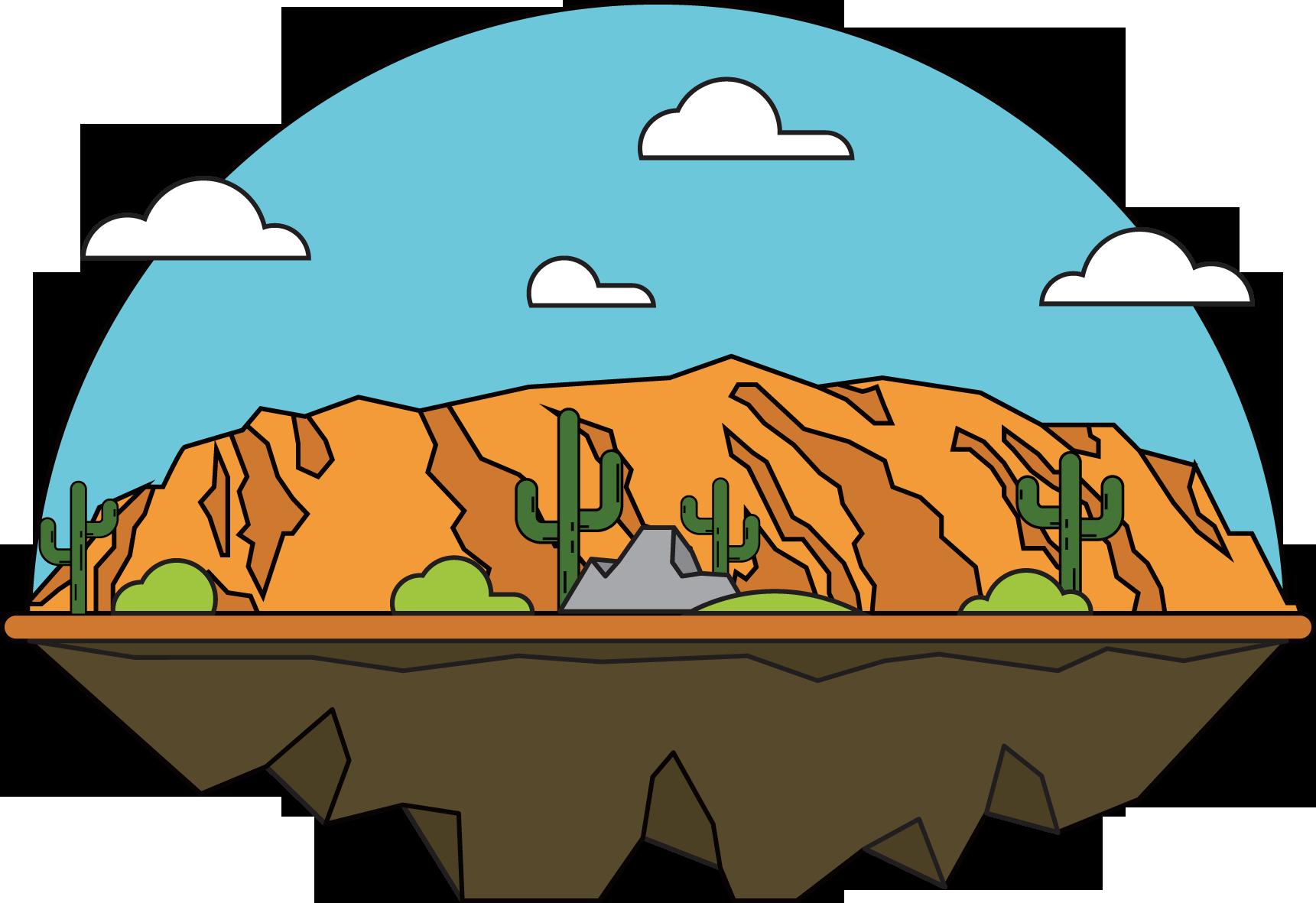 1721x1181 Grand Canyon Clip Art