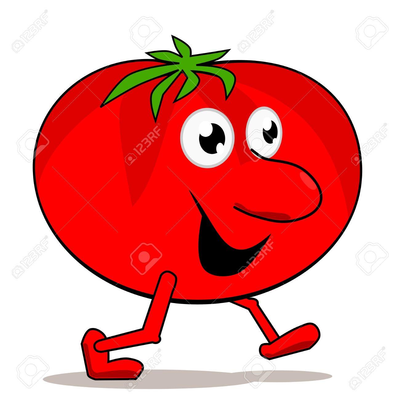 1300x1300 Tomato Clipart Cartoon