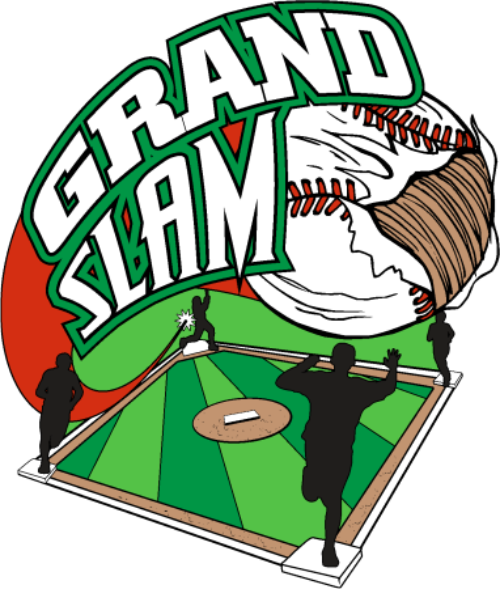 500x589 Collection Of Grand Slam Baseball Clipart High Quality, Free