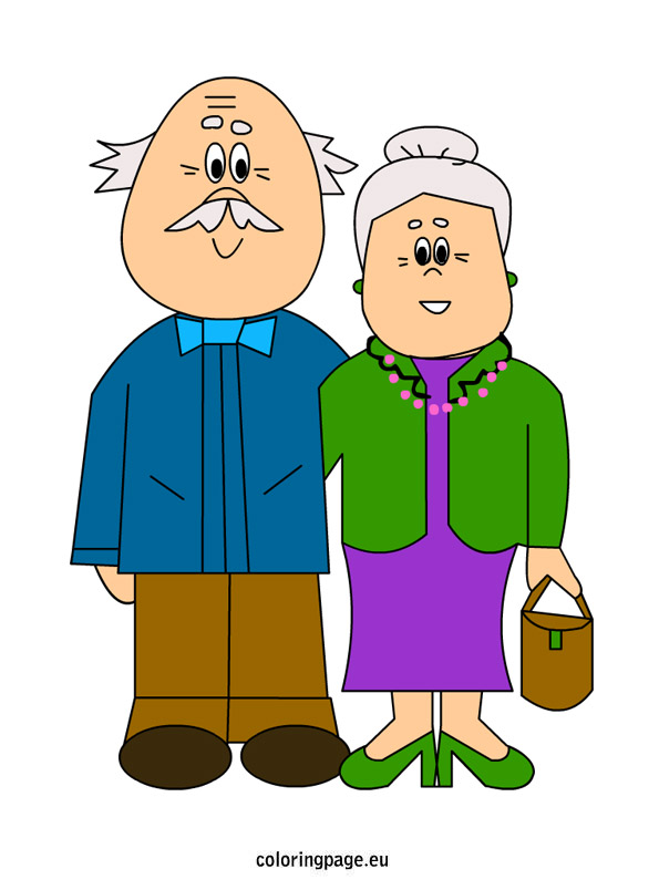 595x804 Clipart Pictures Of Grandparents