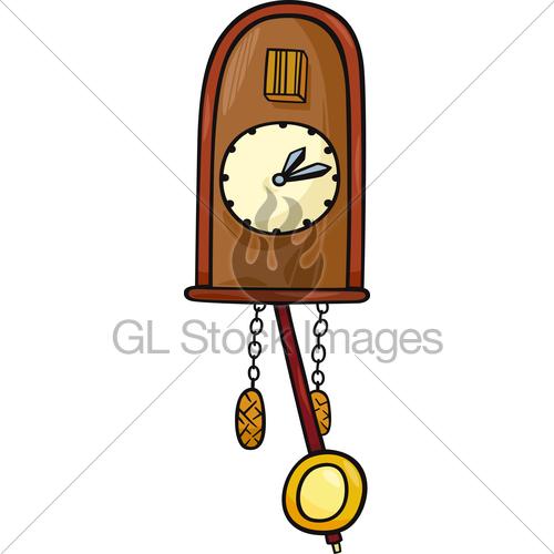 500x500 Grandfather Clock Pendulum Clip Art
