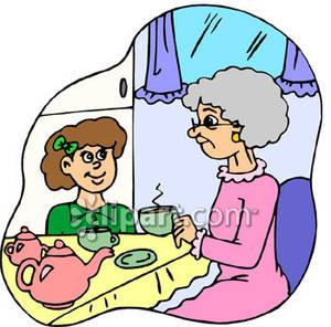 300x296 Grandma's House Clip Art