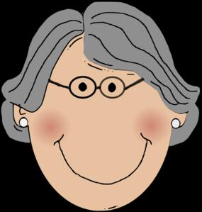 285x299 Grandma Clip Art