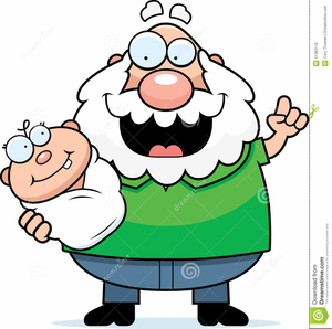 300x298 Grandma Holding Baby Clipart Free Images