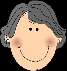 285x299 Happy Grandma Clip Art