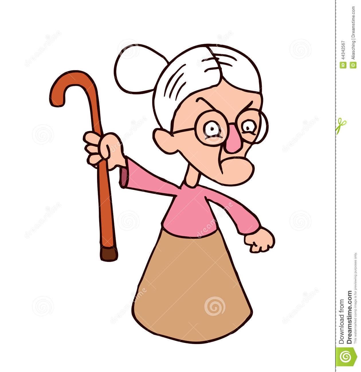 1260x1300 Mad Grandma Clipart