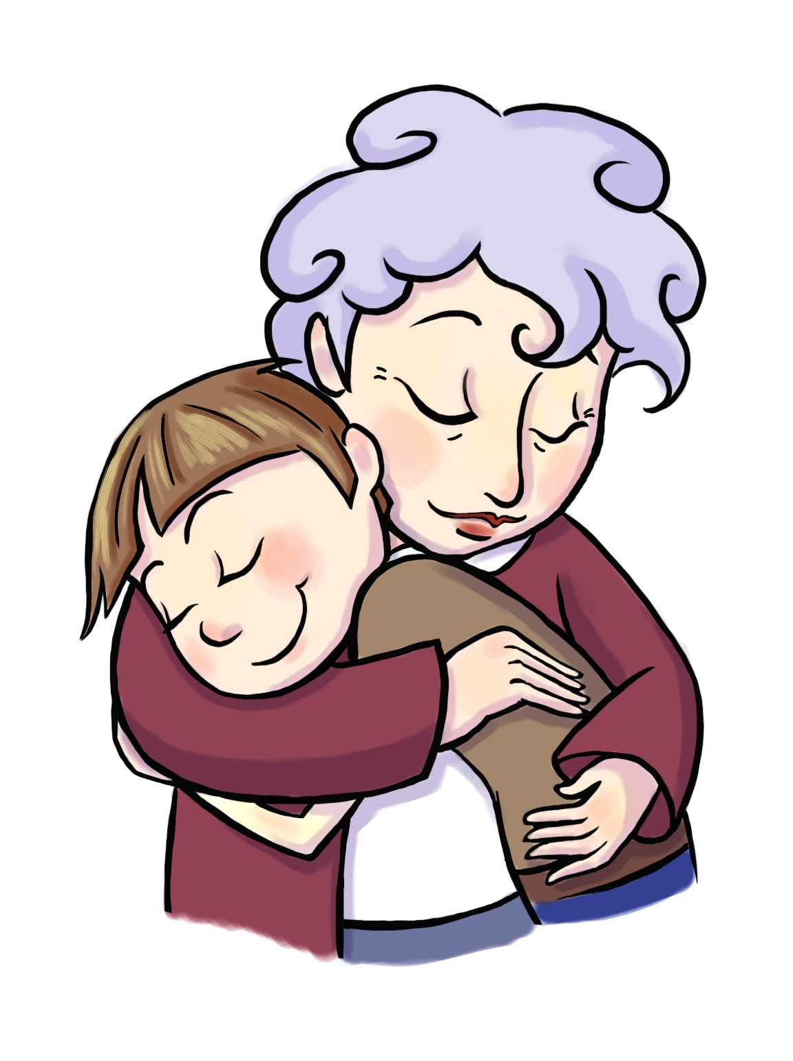 1152x1542 Unique Grandmother Clipart Gallery
