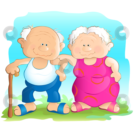 450x450 Grandmother And Grandfather Clipart Free Download Clip Art