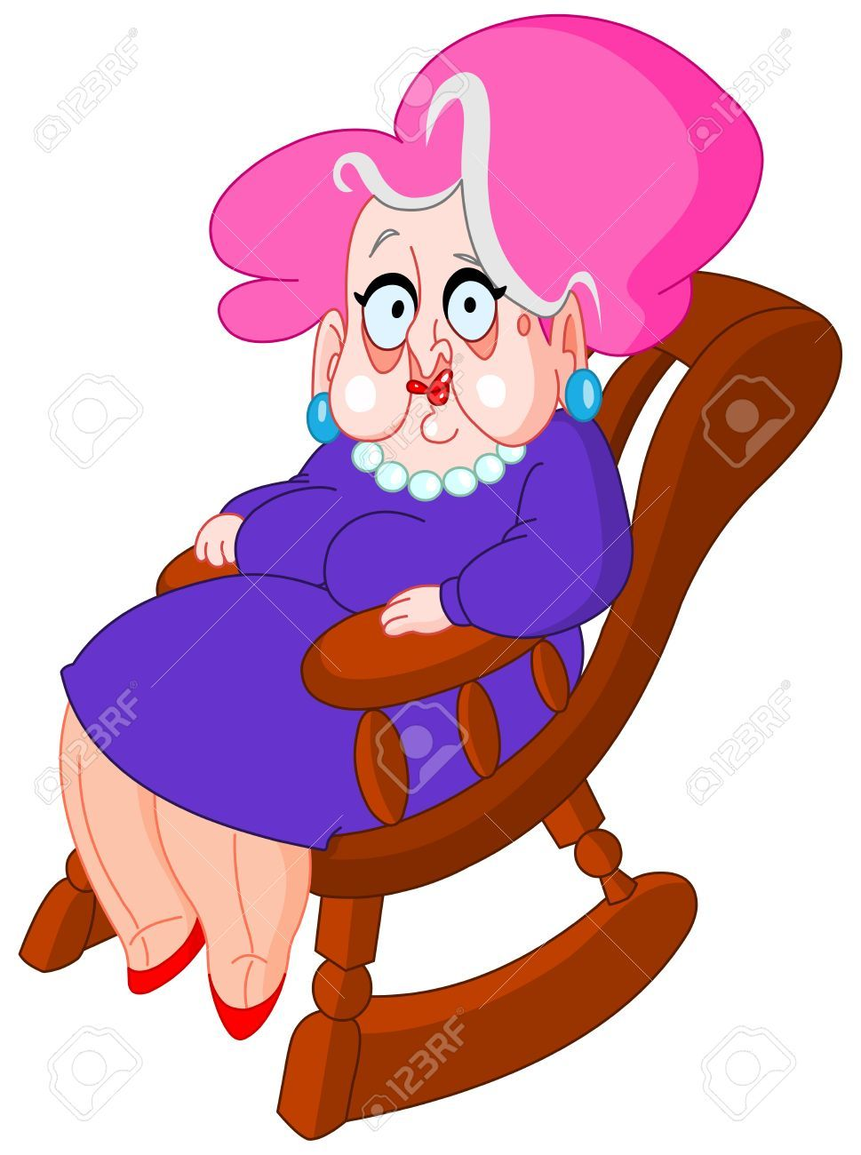 969x1300 Unbelievable The Collection Of Grandmother Person In Rocking Chair
