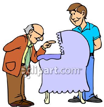 341x350 Dad, Grandpa And Newborn Grandson Addition To The Family