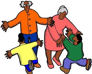 320x258 Grandparents Raising Grandchildren Clip Art Cliparts