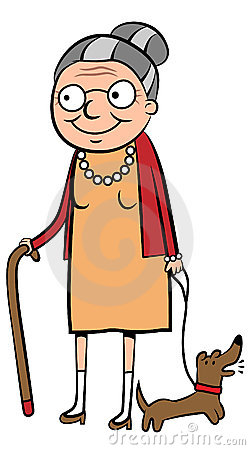 250x450 Woman Clipart Old Age
