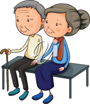 303x350 Grandparents Day People Clipart Collection